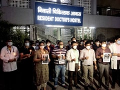 Delhi Doctors Step Out To Back Protesting Colleagues In Madhya Pradesh