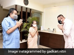 Sanjay Dutt Visits Nitin Gadkari's Nagpur House In Courtesy Call