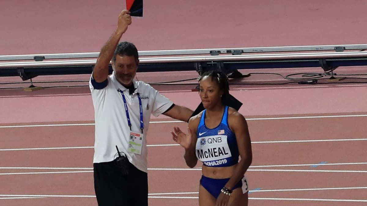 Olympic 100m hurdles champion Brianna McNeal has been banned for five years for manipulating the drug testing process |  Athletics News