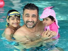Shilpa Shetty's Daughter Samisha Steals The Show In This Father's Day-Special Post. Sorry Raj Kundra And Viaan