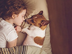 Children Sleeping With Their Pets? They Might Be Getting The Best Sleep Among Us All