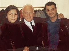 Maheep Kapoor, A Giorgio Armani Fan, Makes A Very Haute Suggestion