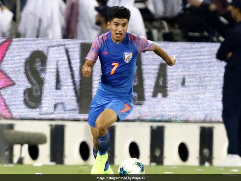 Anirudh Thapa Midfielder of India Football Team COVID-19 Positive, but good value for CT, Test again soon: AIFF General Secretary |  Football news