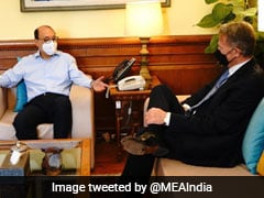 Foreign Secretary, US Envoy Discuss Supply Of Vaccines, Covid Situation