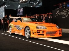 Paul Walker's Toyota Supra From The Fast & The Furious Sells For A Record Rs. 4.07 Crore