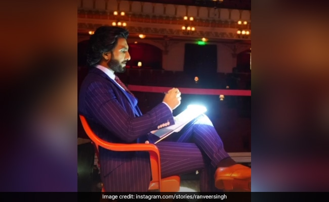 Ranveer Singh Checked Into His Workspace Looking Like This. See Pics