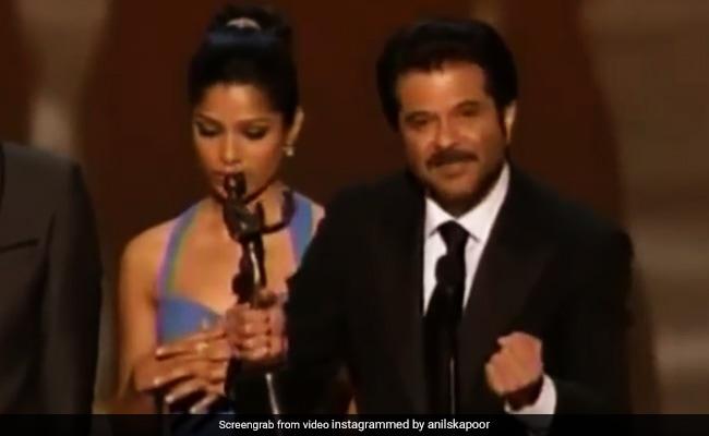 When Anil Dedicated Slumdog Millionaire's SAG Award To Its Child Actors