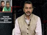 Video : Twitter Crackdown: Govt's Doublespeak?