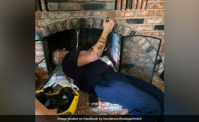 Woman Tries To Enter House Through Chimney, Gets Stuck