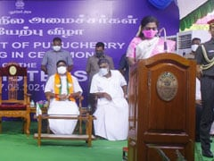 Five Ministers- Two From BJP- Take Oath In Puducherry