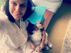 """Inside Neha Dhupia's Daughter Mehr's """"Graduation Day"""" Party. She's Just 2"""