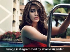 Red Swimsuits Are Reason Enough For Shama Sikander To Miss Stylish Summer Days