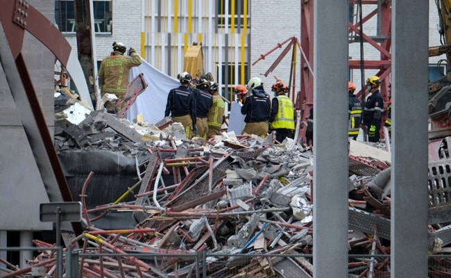 Five Dead As School Construction Site Partially Collapses In Belgium