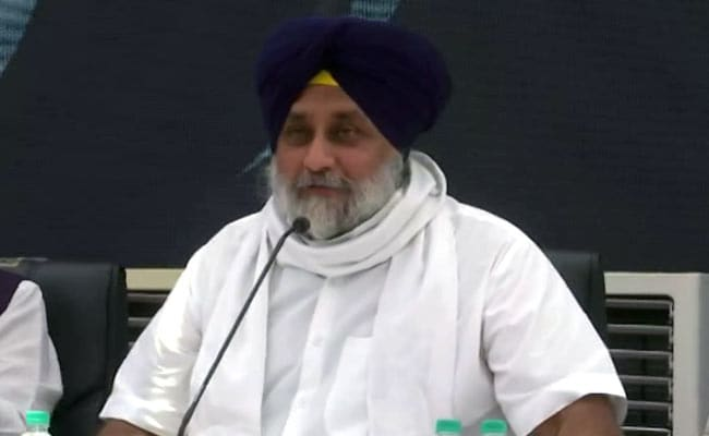 'Misguided Missile': Shiromani Akali Dal Chief Sukhbir Badal On Navjot Singh Sidhu
