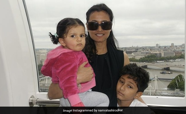 Namrata Shirodkar Is 'Holding On To Tiny Memories' In This Throwback