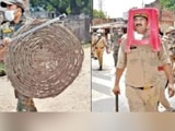Video : UP Cop Uses Plastic Stool As Riot Gear, Bosses Demand Explanation