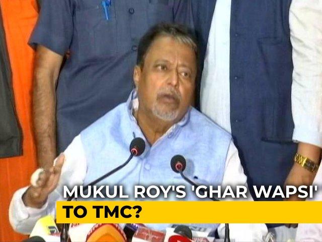 Video : Mukul Roy Skips Key BJP Meet In Kolkata