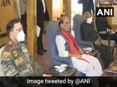 Rajnath Singh Meets Elected Representatives Of Ladakh Autonomous Hill Development Councils