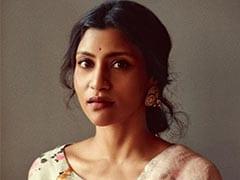 Konkona Sensharma Makes Our Summer Fashion Dreams Come True In A Floral Linen <i>Saree</i>