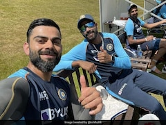 """World Test Championship Final: """"These Quicks Are Dominating Everyday"""", Virat Kohli Captions His Picture With Mohammed Siraj And Ishant Sharma"""