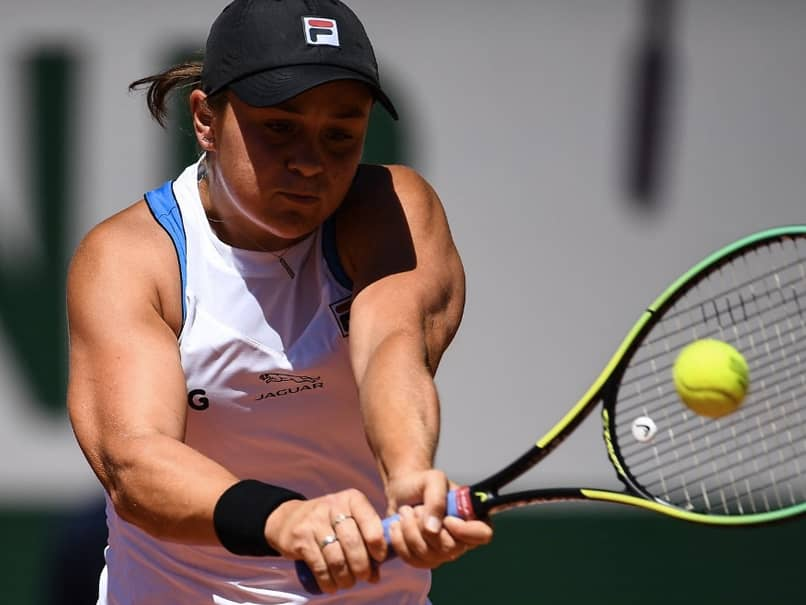 French Open: World No.1 Ashleigh Barty moved into the second round after defeating USA's Bernarda Pera 6-4, 3-6, 6-2.