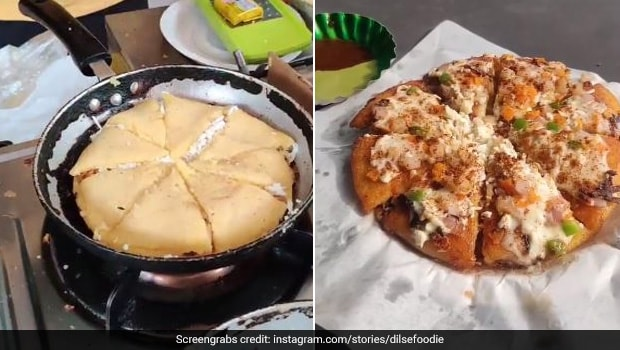 This Street-Style Moong Dal Pizza Is Bursting With Cheese - Tried It Yet?