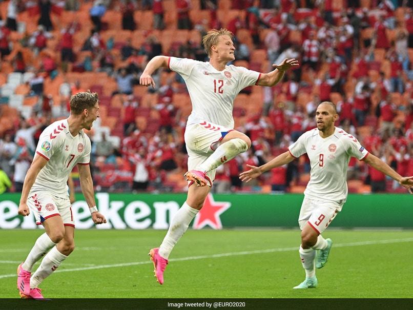 Euro 2020: Kasper Dolbergs Brace Helps Denmark Beat Wales, Enter Quarterfinals
