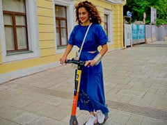 Taapsee Pannu, On Her New Ride, Takes Over Moscow. See Pic