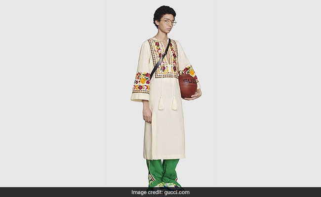 Desi Twitter Shocked At Gucci Selling A 'Kurta' For Rs 2.5 Lakh