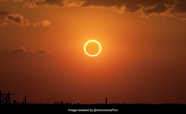 Solar Eclipse 2021: The 'Ring Of Fire' Solar Eclipse Coming Up On June 10