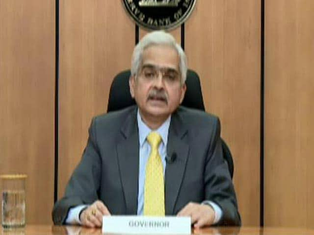 Video : RBI Keeps Rate At Which It Lends Money To Banks Unchanged At 4%