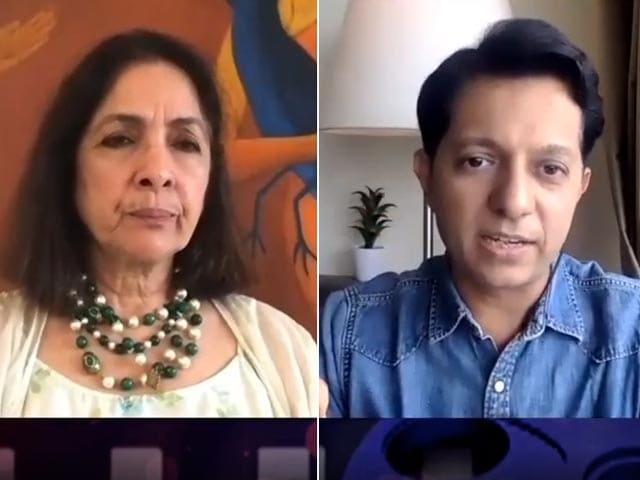 Video : Neena Gupta On Her Book 'Sach Kahun Toh'