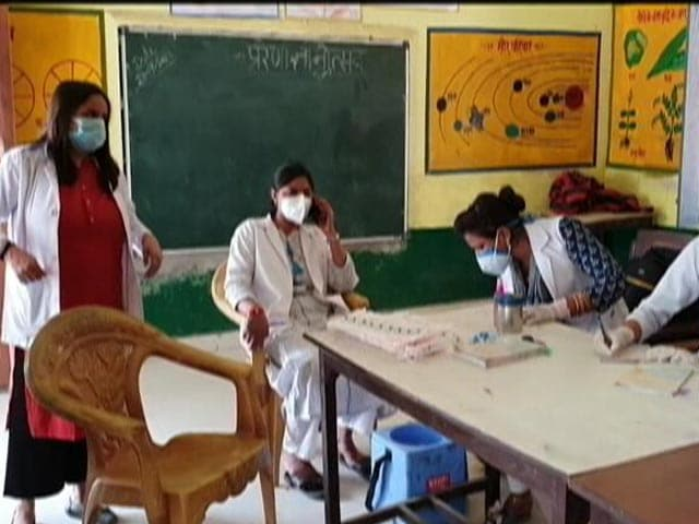 Video : For Covid Jabs, UP's Health Workers Go The Extra Mile