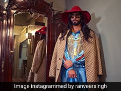 Prove Us Wrong If Ranveer Singh Dressed In All-Gucci Is Not The Best Thing You've Seen Today