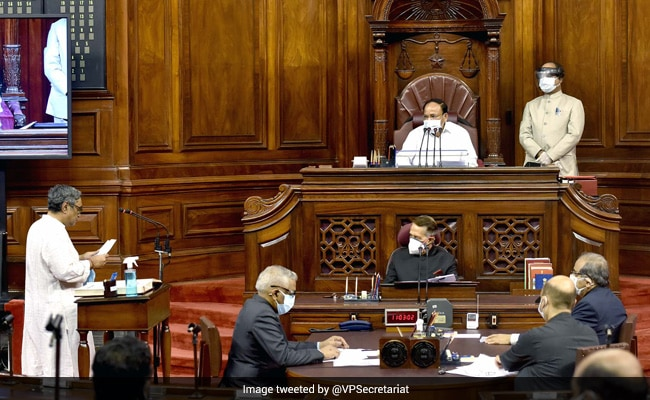 Swapan Dasgupta, Mahesh Jethmalani, 2 Others Take Oath As Rajya Sabha MPs