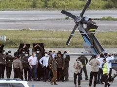 Colombian President Says Helicopter Hit By Gunfire Near Venezuela Border