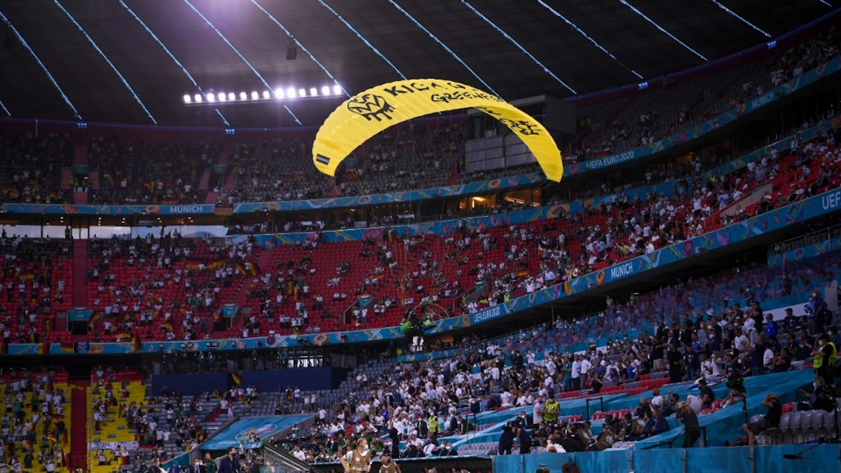 Photo of Snipers 'Were Ready To Shoot' Parachutist At Euro 2020 Match: Minister