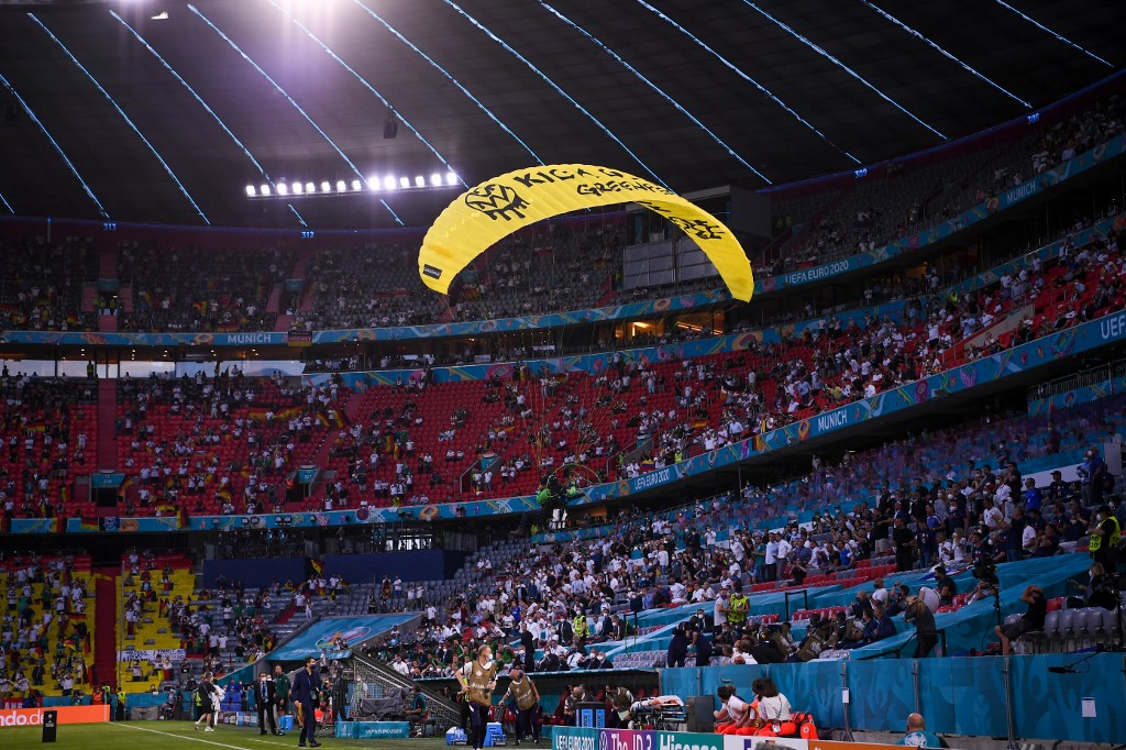 Snipers Were Ready To Shoot Parachutist At Euro 2020 Match: Minister
