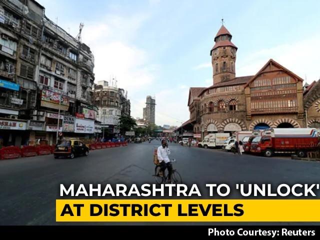 Video : Maharashtra Announces 5-Level Unlock Plan, Mumbai Trains Shut For Now