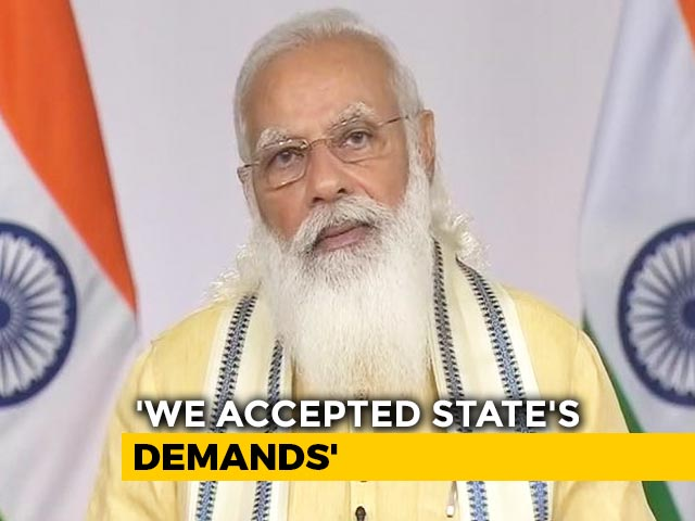 Video : In Address To Nation, PM Modi Shares New Vaccine Rules, Free Jabs For States