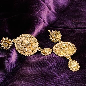 These Precious Gold Earrings Will Be A Treasured Possession In Any Jewellery Box