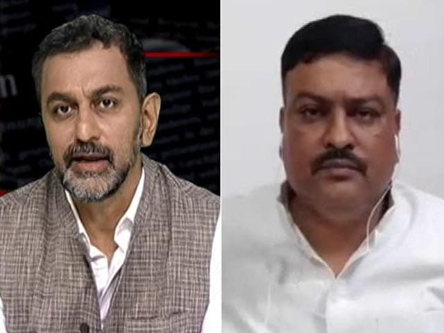 """Video : Those With Responsibility Of Building Temple """"Looting People"""": Samajwadi Party"""