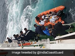 Indian Coast Guard Rescues 9 Crew Members From Sinking Vessel Off Port Blair Coast