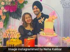 Neha Kakkar Celebrated Her 33rd Birthday With Hubby Rohanpreet And Tableful Of Cakes - See Pics