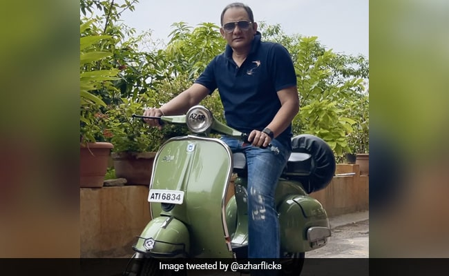 Mohammad Azharuddin Shares Nostalgia On Social Media With Pictures of his Earliest Rides
