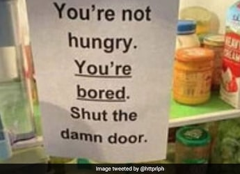 Do You Open Your Fridge Often For No Reason? Then You Will Relate To This Post