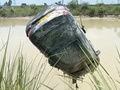 2 Bodies Found In 2 Cars After Ganga Canal Desilted In UP's Muzaffarnagar