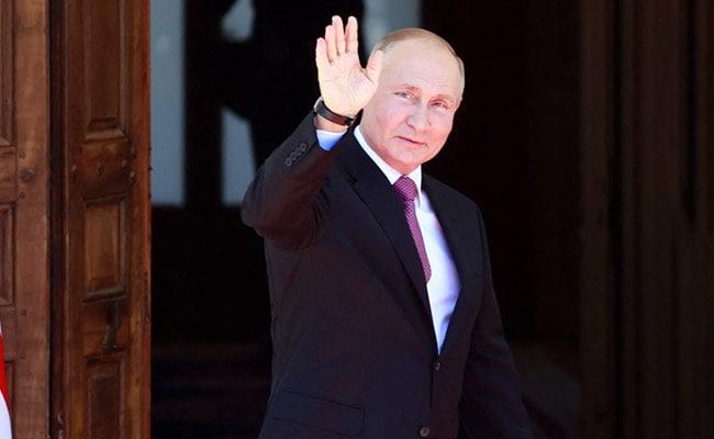 Russia's Putin Arrives In Geneva For Biden Summit