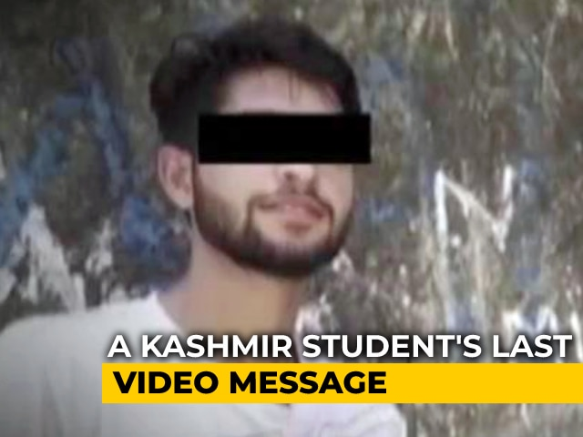 Video : In Video Before Suicide, Kashmir Man Highlights Salary Denial To Teachers