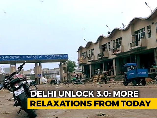 Video : Delhi Unlock 3.0: What's Open, What's Not From Today